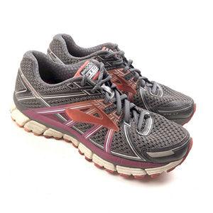 Brooks GTS 17 Womens Gray Road Running Walking